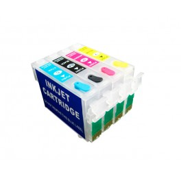 Quickfill Auto-Reset Epson T1801 - 1804, 1811 - 1814 (T18XL) - 1 Set