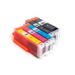 Quickfill Auto-Reset Canon PGI-550 / CLI-551 - 1 Set (5 Patronen)